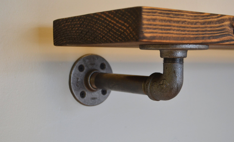 Industrial Pipe Shelving 36 Shelf Open