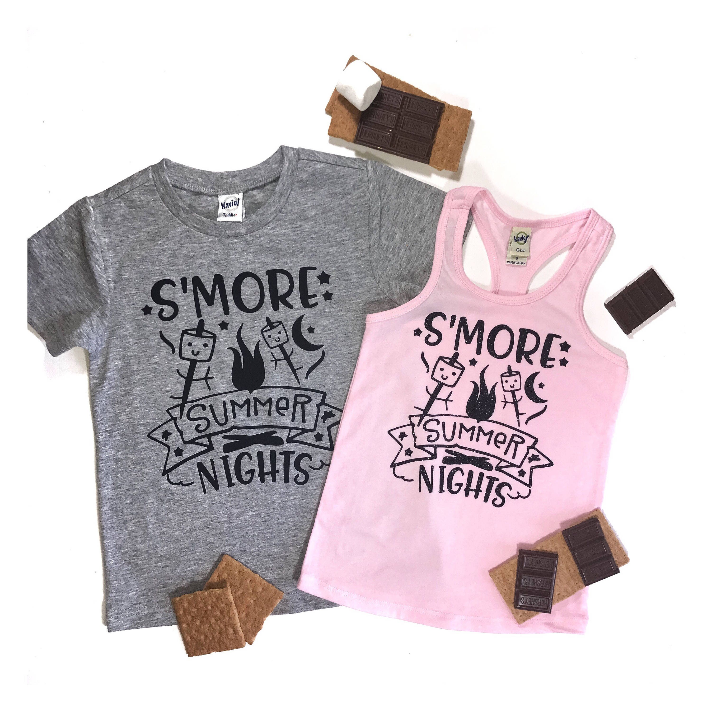 S\'mores shirt S\'mores Tshirt S\'mores Party