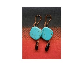BOHO ART NOUVEAU earrings