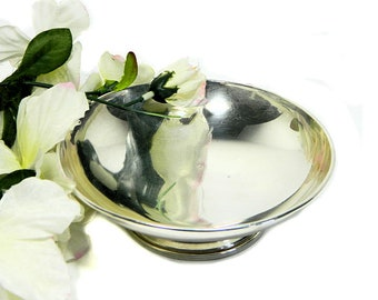 Premiere Sterling Silver Small Footed Bowl