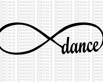Dance Infinity Loop SVG for Download