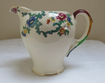Pretty Vintage Jug by Royal Cauldon, England - Victoria Pattern