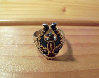 Eagle Wings Up Ring