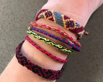Colorful Friendship Bracelet