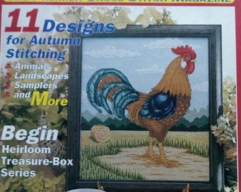 Just Cross Stitch Magazine ~ October 1996