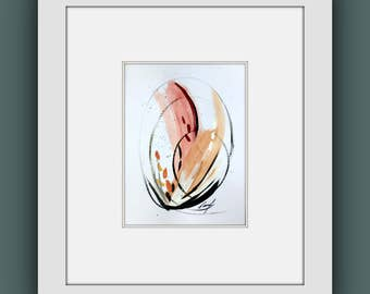 Original Painting, Abstract Fine Art, Framed Original Painting, Contemporary Art, Modern Art, Abstract Wall Art, Ready to Hang Painting