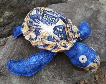 """DR WHO Sea Turtle- """"The Tordis"""""""