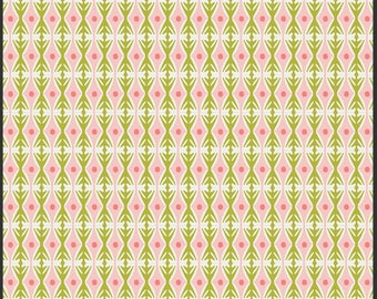 Marquise Rose Luxe in Bloom by Sarah Watson for Art Gallery Fabrics Limited Edition - Pink and Green Abstract Quilt Cotton - LIB-8200