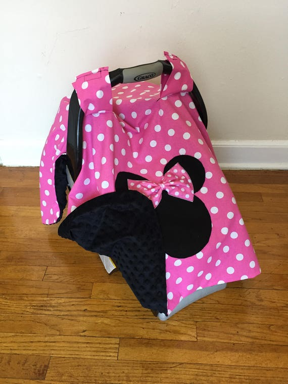 Minnie Mouse Car seat Canopy Basic NO NAMEcar seat canopy