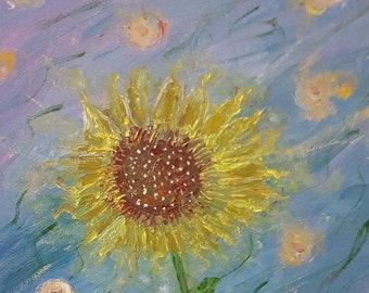 Sunspot - Acrylic Painting on Canvas
