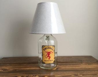 Fireball desk lamp.