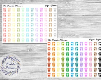 Coffee - Planner Stickers