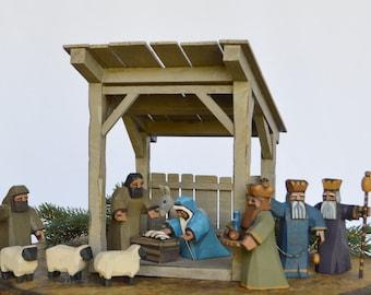 Nativity Creche Stable