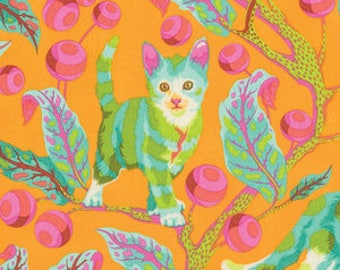 Disco Kitty in Marmalade Skies by Tula Pink