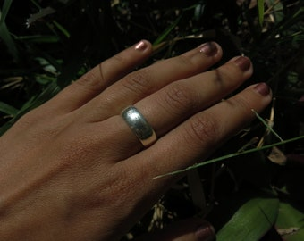 Thick Sterling Silver Ring