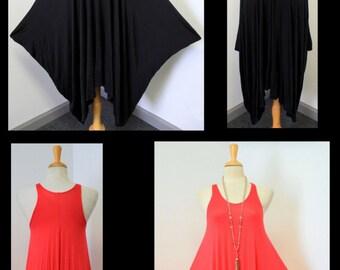 Exclusive and versatile, Layering Dress, Lagenlook Dress, Regular Size S/M/L