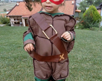 Soldiers Turtle Green Turtle Costume Brave Turtle Suit Turtle Mask Turtle Brothers Suit Turtles Birthday Party Children Turtle Costume TMNT