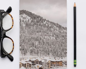 Winter Wonderland 1700 Softcover Notebook, California Landscape Journal