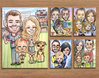Group Caricatures