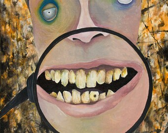 "Teeth - Print - 8"" x 10"""