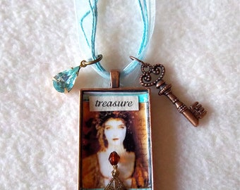 Treasure Healing Art Necklace, No.40