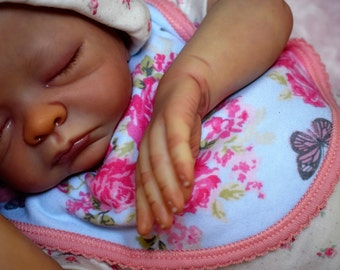 Reborn newborn baby molly. Custom made to order