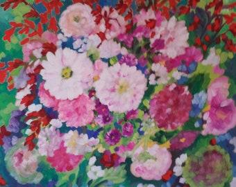 Marie Antoinette's garden flowers