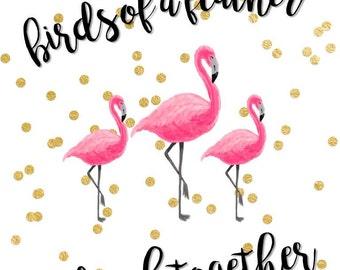 Let's Flamingle Bachelorette Party Pack