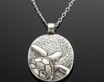 Handmade Sea Turtle Pendant