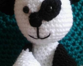 SALE - Panda bear soft toy-panda bear stuffed toy-panda bear plushie-crochet panda bear-amigurumi panda bear