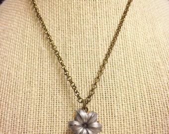 Federal HST 9mm 124 Grain Bullet Necklace - Antique Finish - Beautifully Expanded  - Very Unique