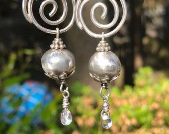Sundrop Silver Swirls