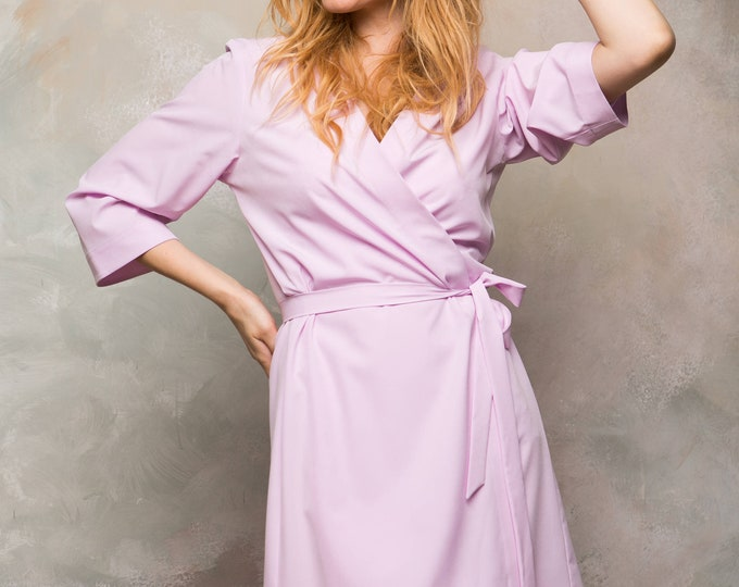 lilac bridesmaid robes - 680×540