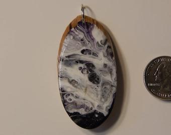 Fluid Art Pendant