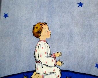 Prayers for Little Children vintage book 1937