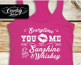 Country festival, Country music tank, Country concert, Country shirt, Country girl, Country Concert Tees, Southern, Sunshine and Whiskey