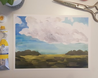 Daylight Clouds~Print