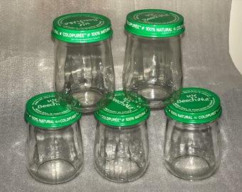 Box of 10 - 4oz Glass Jars