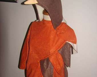 Bird costume for toddlers, kids and adults