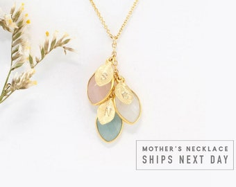 Mother's Day Gift Custom Necklace For Mom, Custom Initial Necklace, Mommy Necklace, Family Necklace, Personalized Necklace, Mom Gift