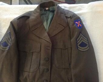 1950's U.S. Army dress uniform - Jacket and pants