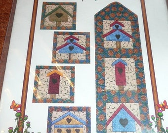 Vintage Love Nests Coasters And Wallhanging Quilting Pattern