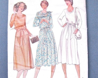 Spring Sale Uncut BUTTERICK 6093 from the 1970s  Matti of Lynne Designer Sewing Pattern