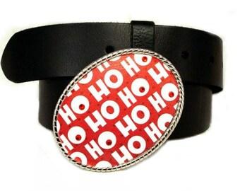 Belt Buckle HO HO HO