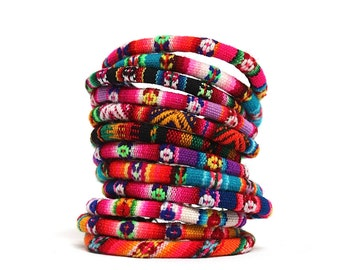 bracelets your yarn colorful diy wrapped brighten day favorite will that bracelet