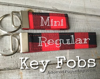 KEY FOBS, You CHooSe Fabric, Custom Key Fobs to match your pup's Dog COLLAR