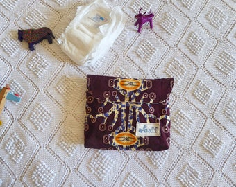 Changing Pad and diaper bag African Vibe