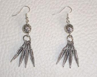 Tibetan silver hypoallergenic earrings