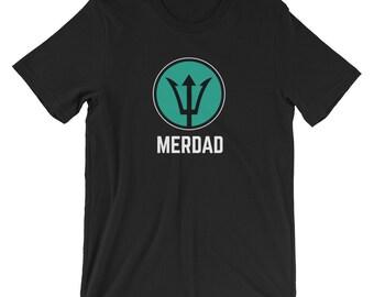MerDad T-shirt Funny Dad Tee