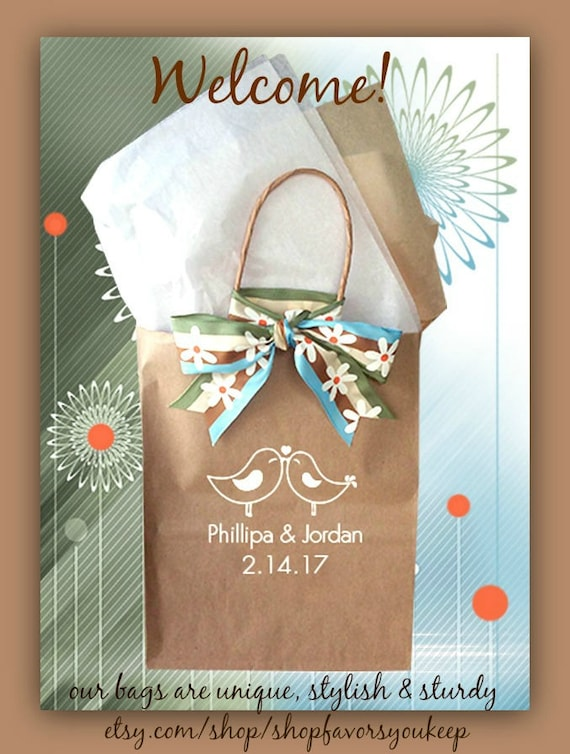 Wedding Welcome Bags For Guests Wedding Guest Gift Bag